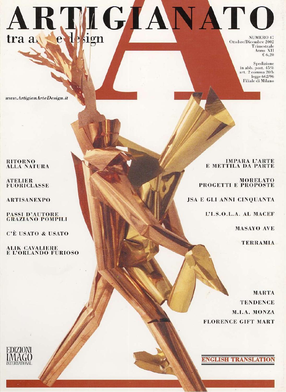 Artigianato 47 by Fondazione Cologni dei Mestieri d Arte - issuu b41a87eb5750