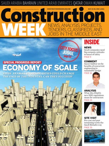 Construction Week - Issue 322 by ITP Business Publishing - issuu