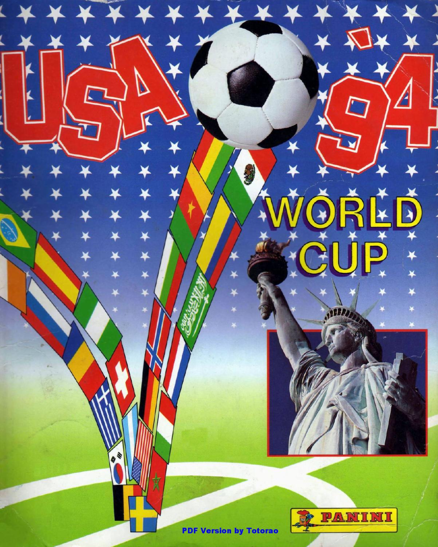 Panini Fifa World Cup 1994 Stickers By Gramosli Issuu
