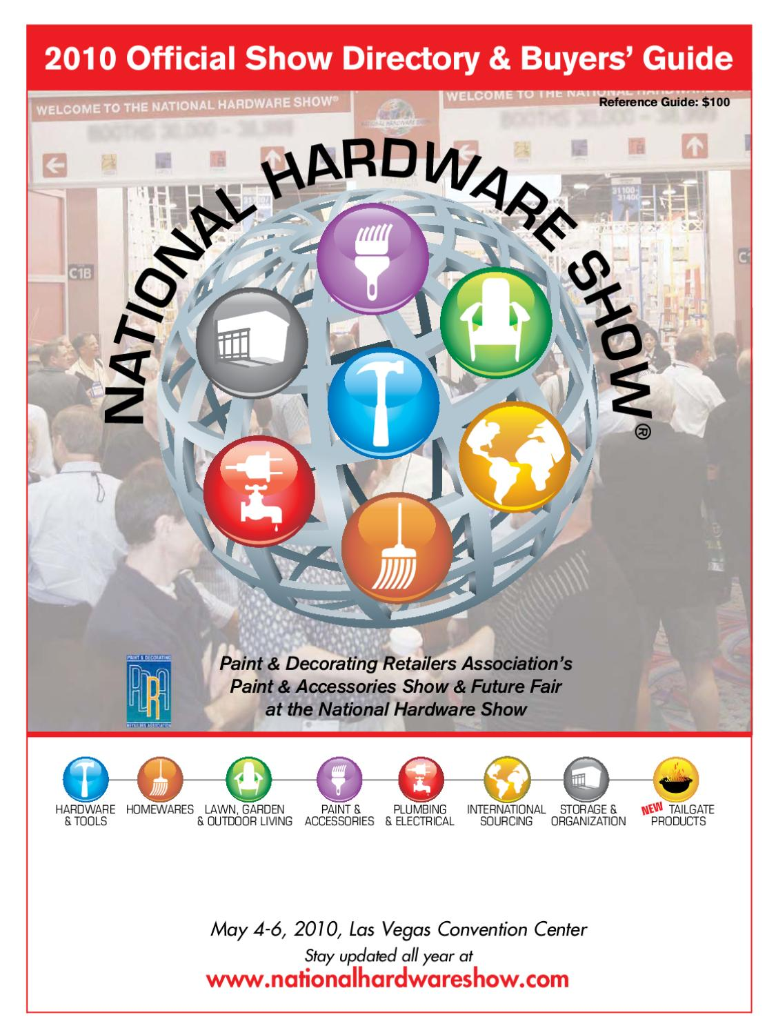 2010 National Hardware Show Digital Directory by Reed Exhibitions - issuu