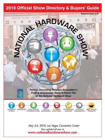 60d04f619178 2010 National Hardware Show Digital Directory by Reed Exhibitions ...