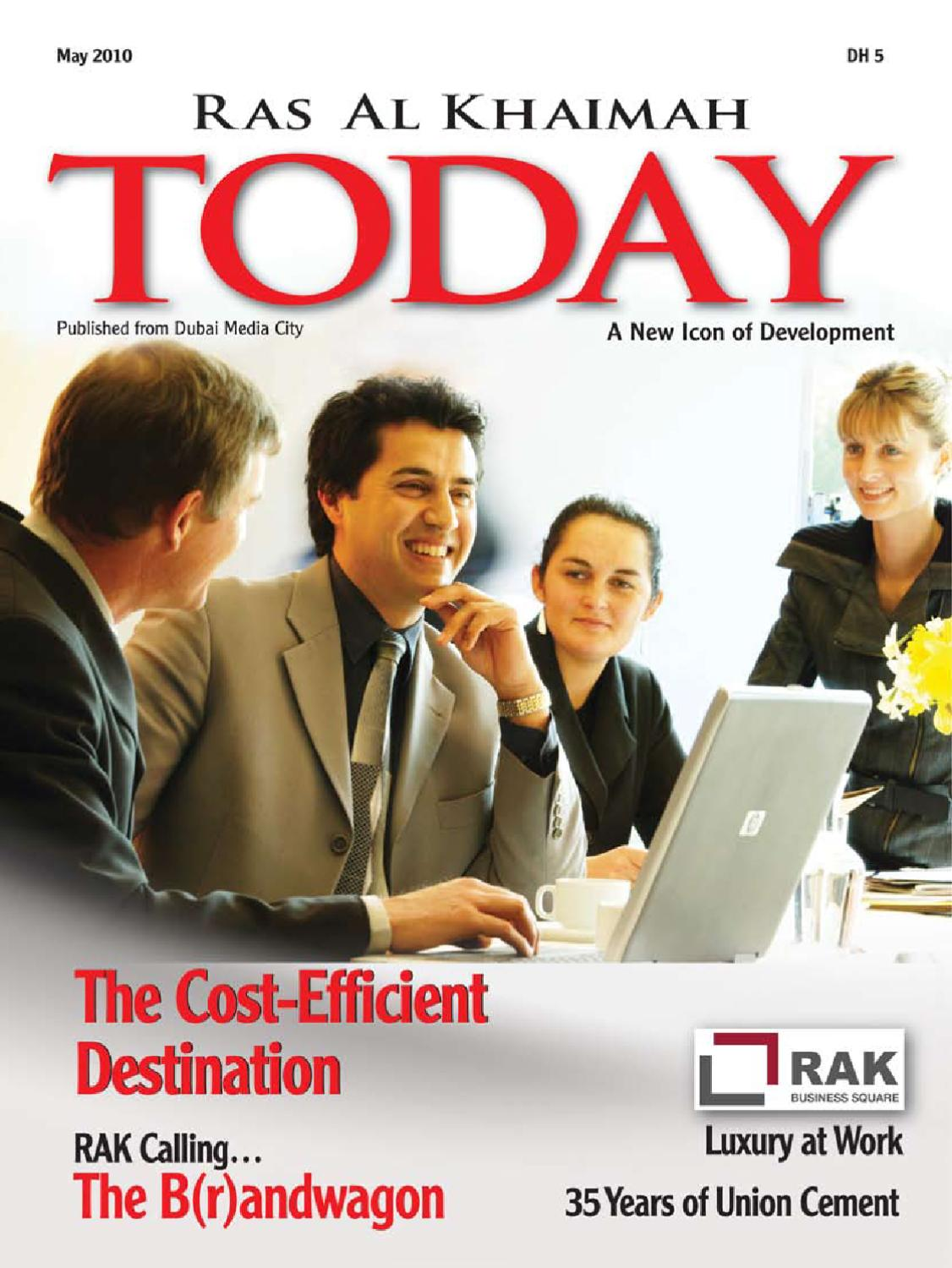 RAK TODAY May '10 by Sterling Publications - issuu