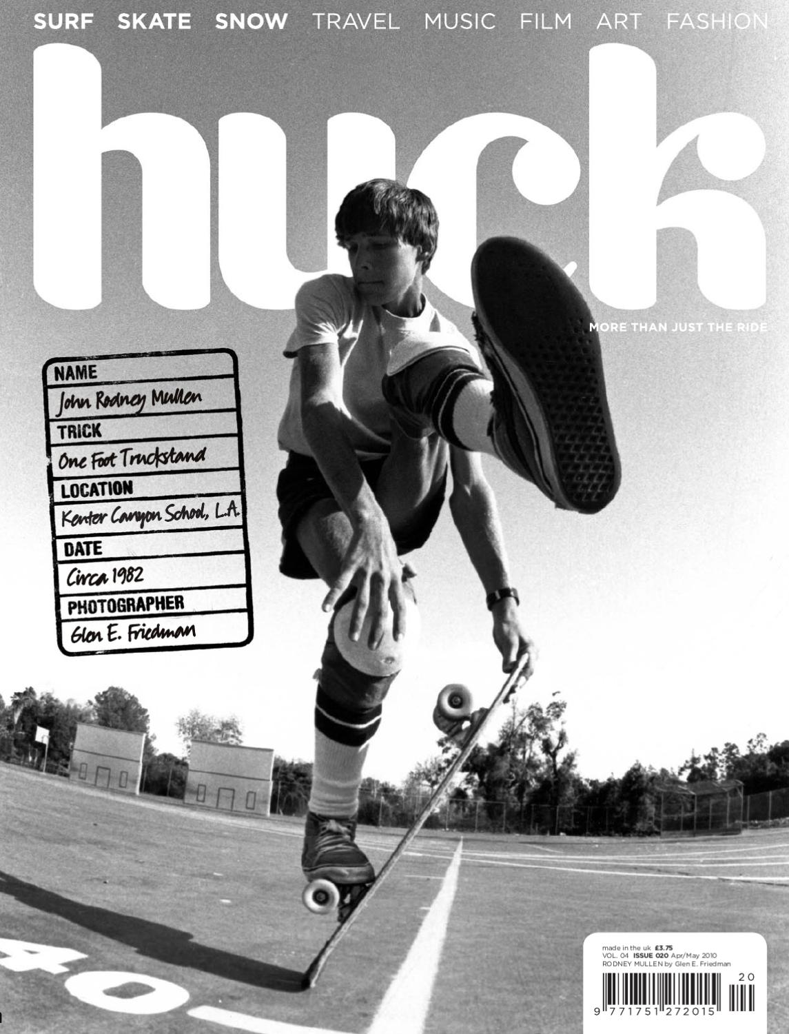Huck Magazine The Rodney Mullen Issue Digital Edition By Tcolondon Old Circuit Board Flickr Photo Sharing Issuu