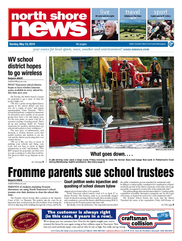 9123f22bc710 North Shore News - May 23