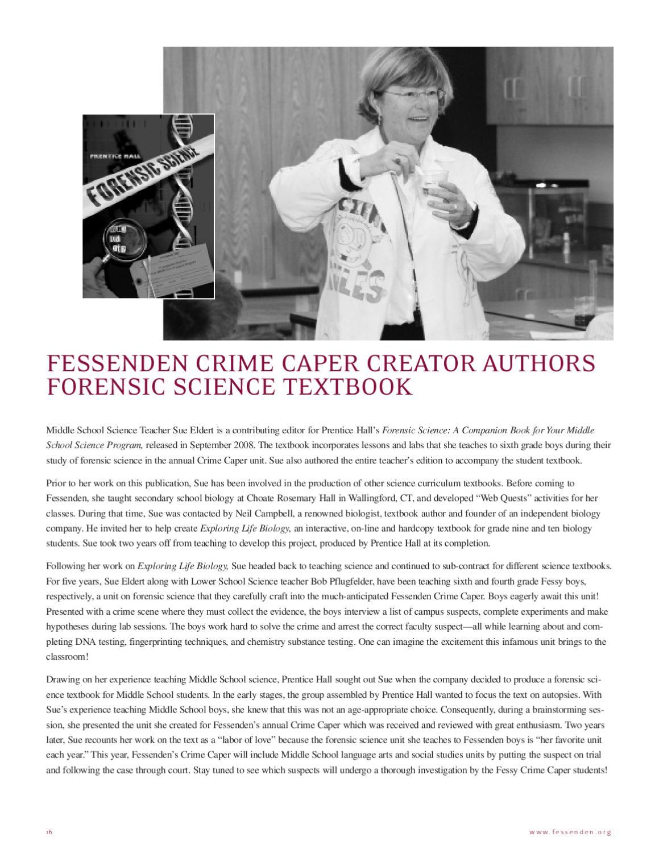 Fessenden School Red & Gray Magazine by Lindy Gruen - issuu