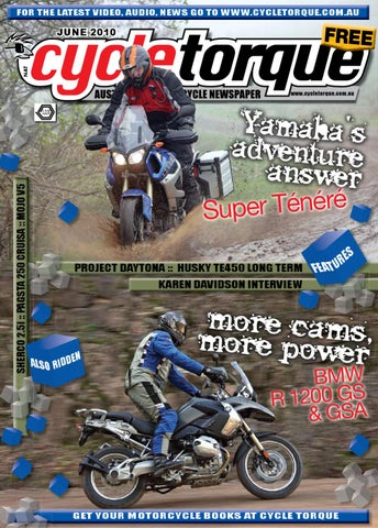 da2bec19d3a348 Cycle Torque June 2010 by Cycle Torque - issuu