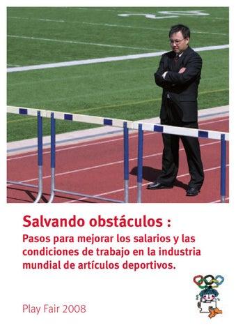 Juega Limpio 2008 - Salvando obstáculos by International Trade Union ... 816c7a2a7bf
