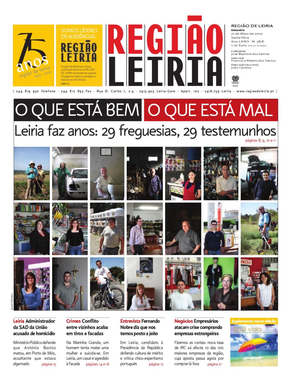 Regiao de Leiria de 21 de Maio de 2010 by Região de Leiria Jornal - issuu cb1b5b27ad9