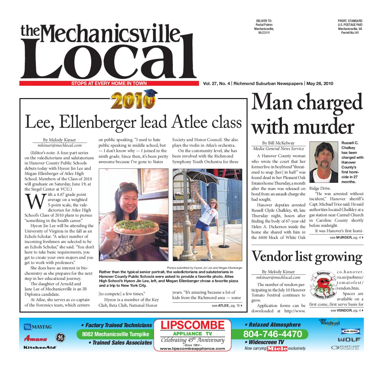 05/26/2010 by The Mechanicsville Local - issuu