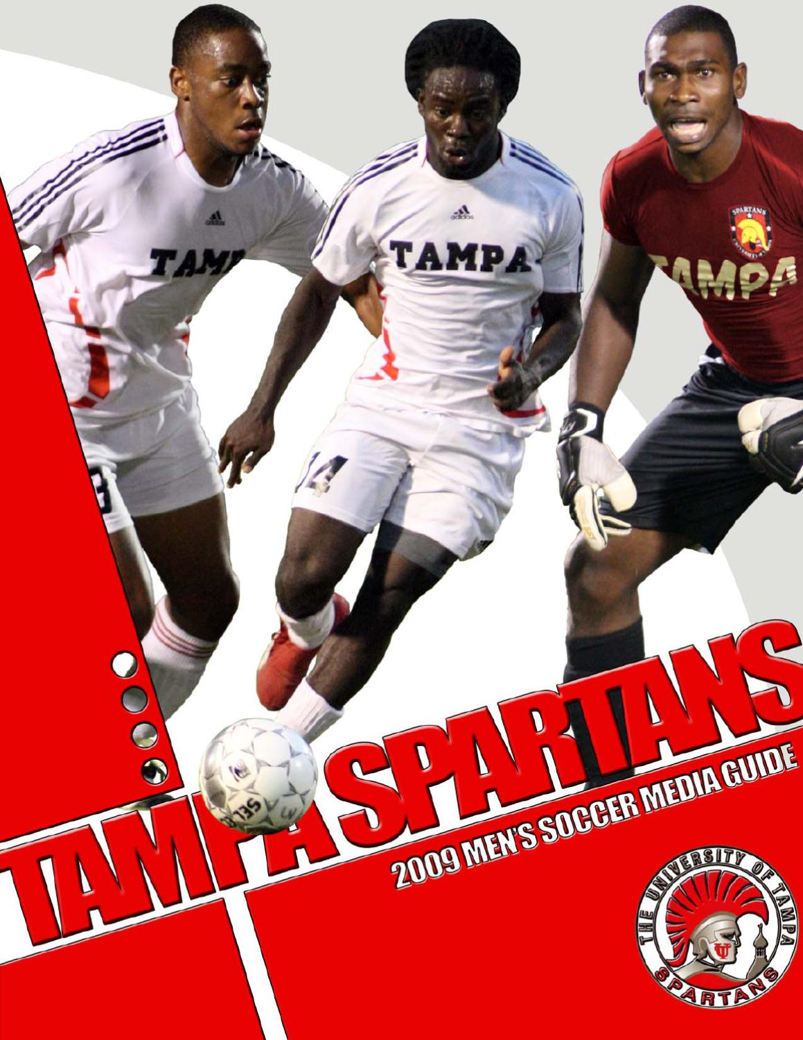 2009 University Of Tampa Mens Soccer Media Guide By Athletics