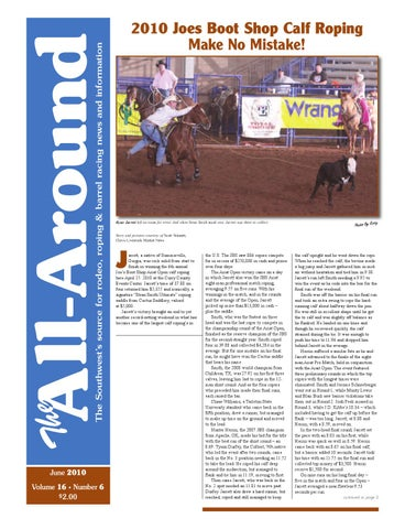 6076a8cc110 The All Around-June 2010 by Western Sports Publishing - issuu