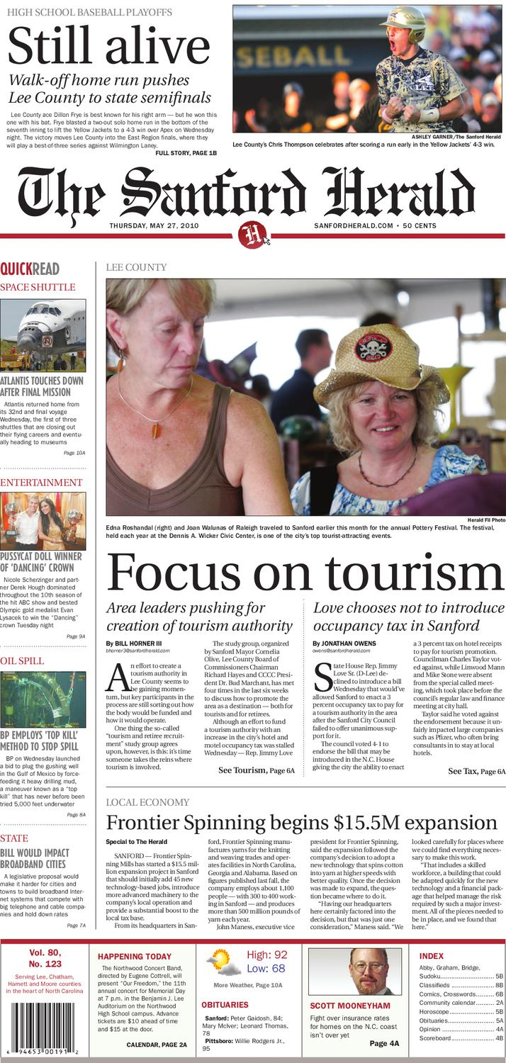 May 27, 2010 by The Sanford Herald - issuu