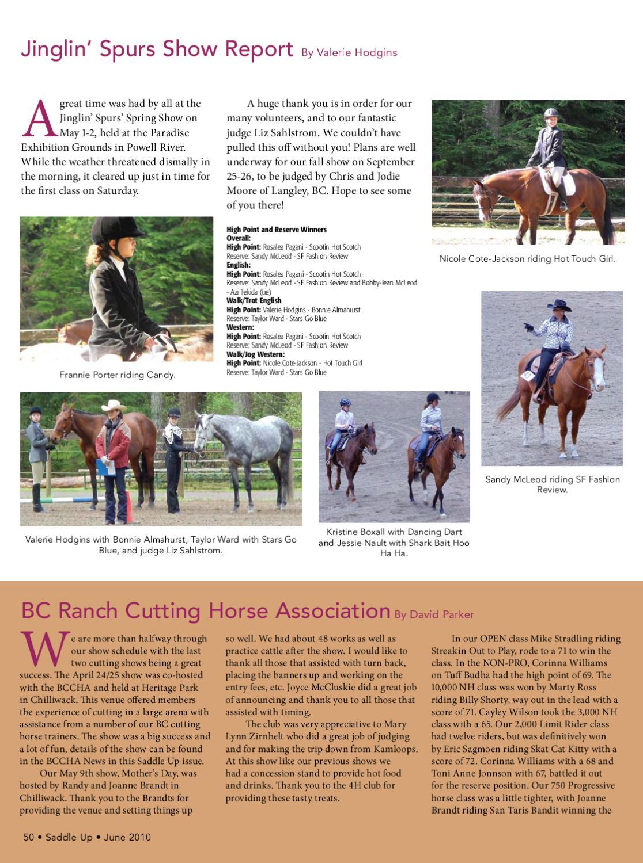 Saddle Up oct 13 by Saddle Up magazine - Issuu