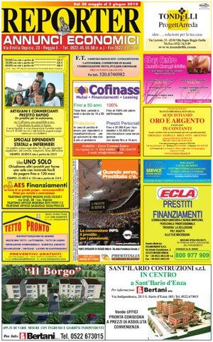 Reporter Annunci 28 Maggio 2010 by Reporter - issuu 7c9157df1c9