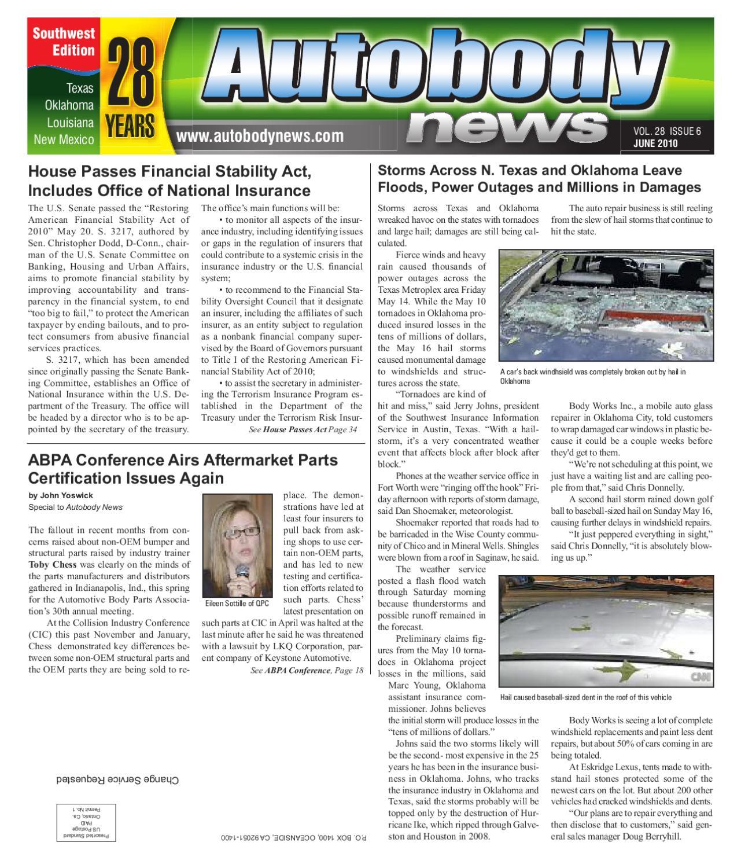 Southwest June 2010 Autobody News by Autobody News issuu