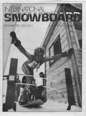 International Snowboard Magazine