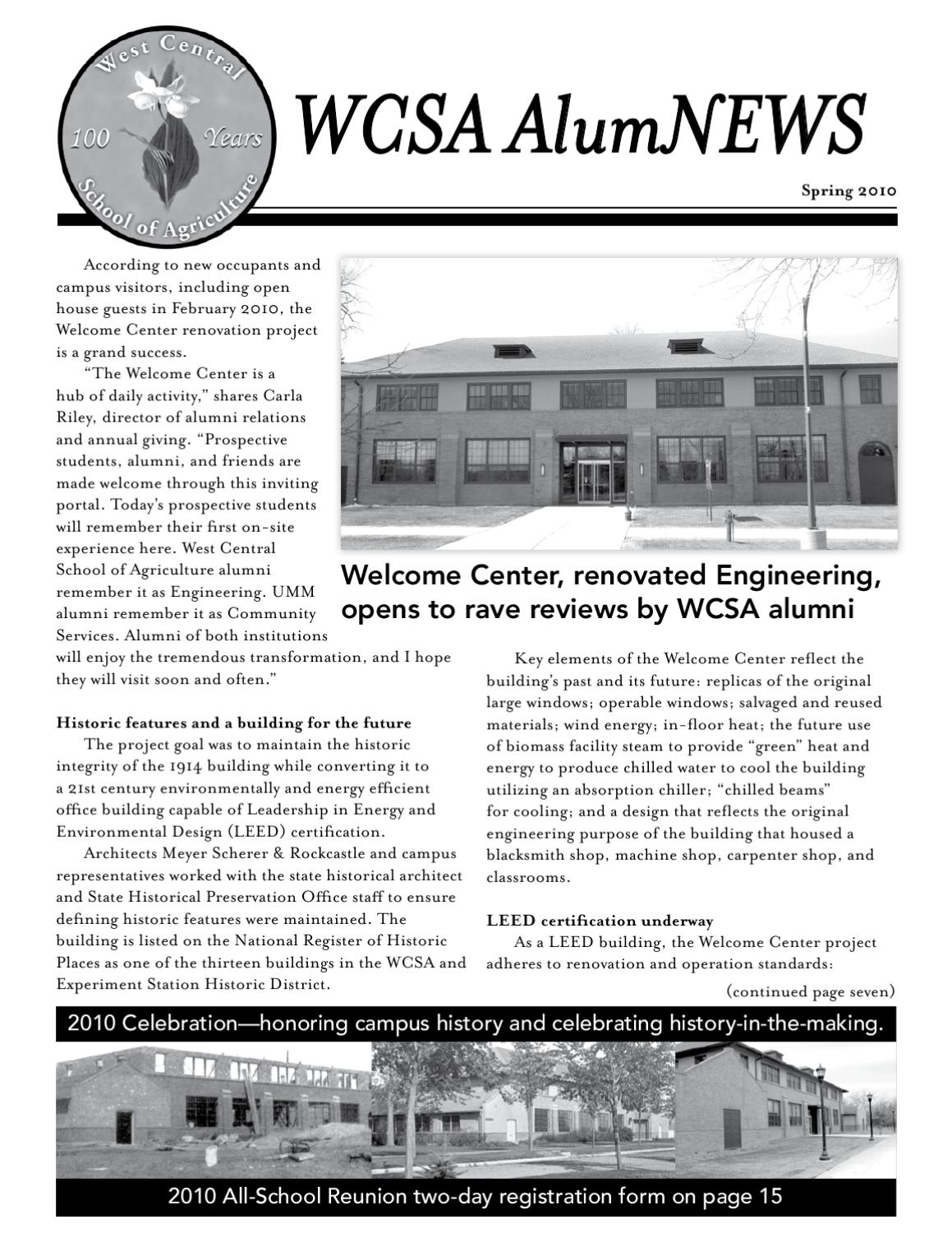 West central school of agriculture spring 2010 newsletter by west central school of agriculture spring 2010 newsletter by university of minnesota morris issuu 1betcityfo Choice Image
