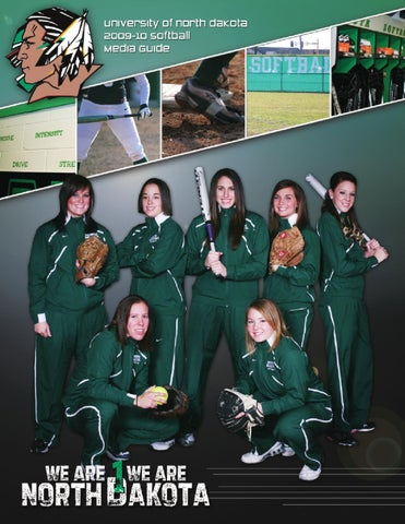 b003c9ba89c 2010 University of North Dakota softball media guide by University ...