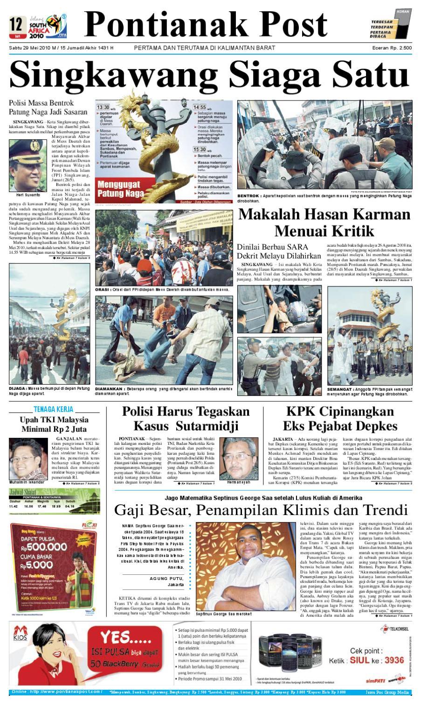Pontianak Post By Issuu Tcash Vaganza 28 Sambal Bawang Bu Rudy Khas Surabaya