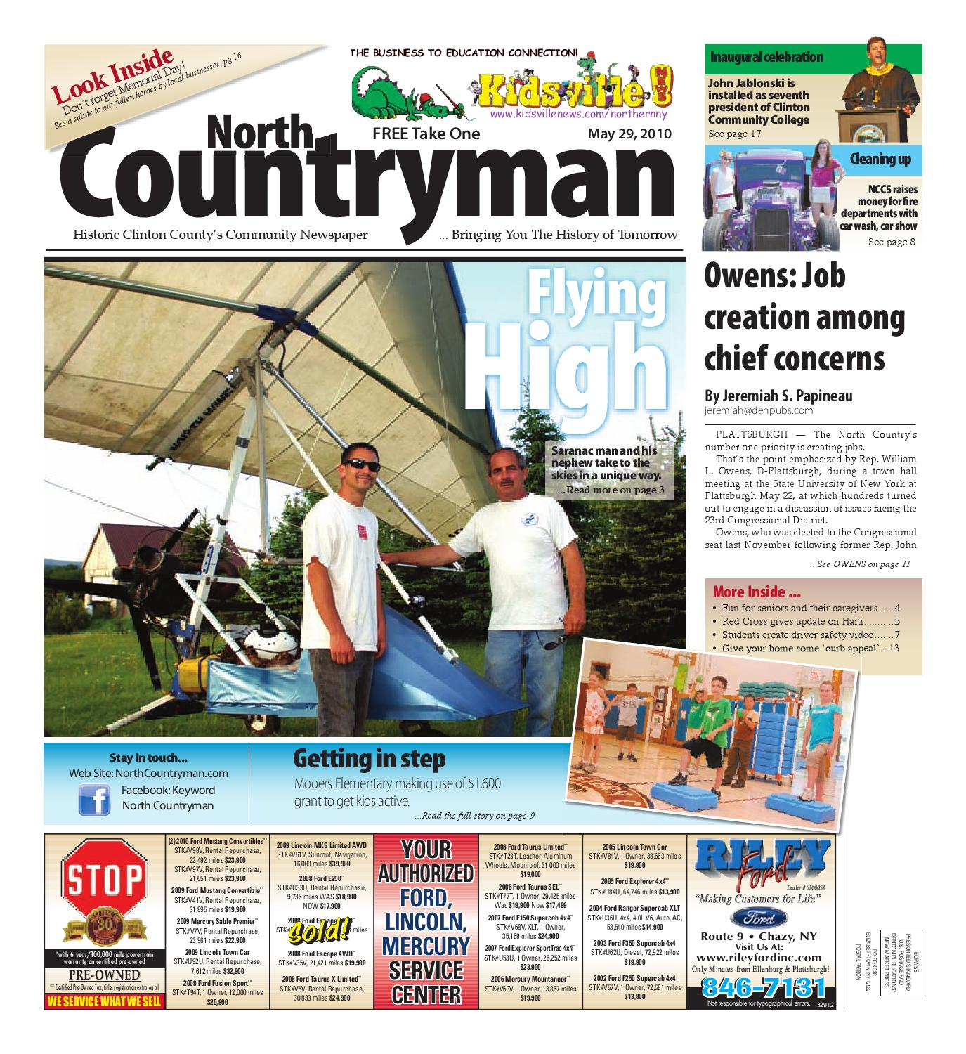 North Countryman 05-29-2010 by Sun Community News and Printing - issuu