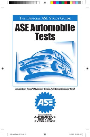 ASE Certification by Dave Steel - issuu