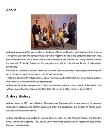731dd3ecdba Ardyss International History by NewShape-By-Ardyss - issuu