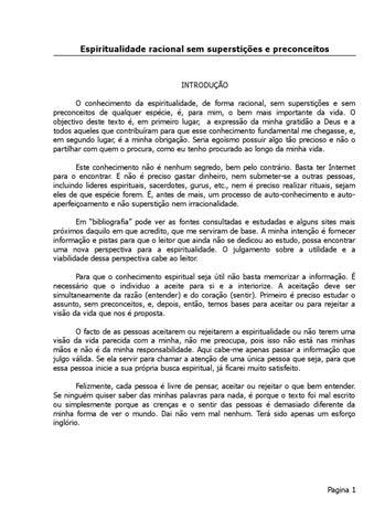 3736617b1506b Espiritualidade racional e sem preconceitos by Vitor Santos - issuu