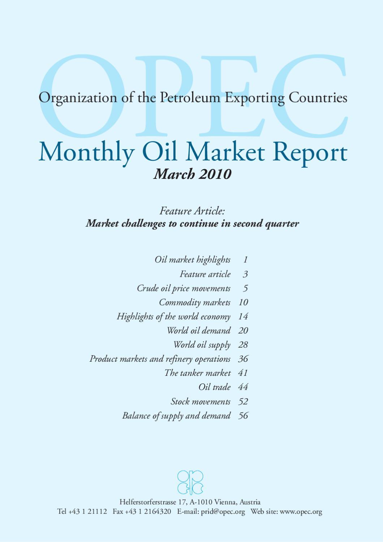 OPEC by Letabox - issuu