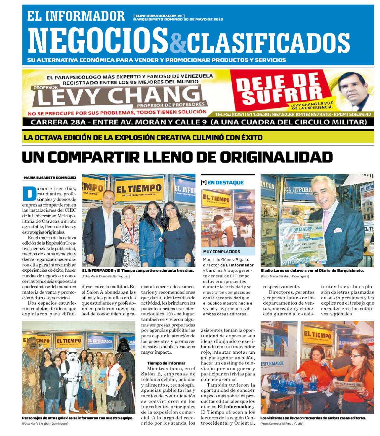 negocios y clasificados 2010.05.30 by El Informador - Diario online  Venezolano - issuu afa5db870f3