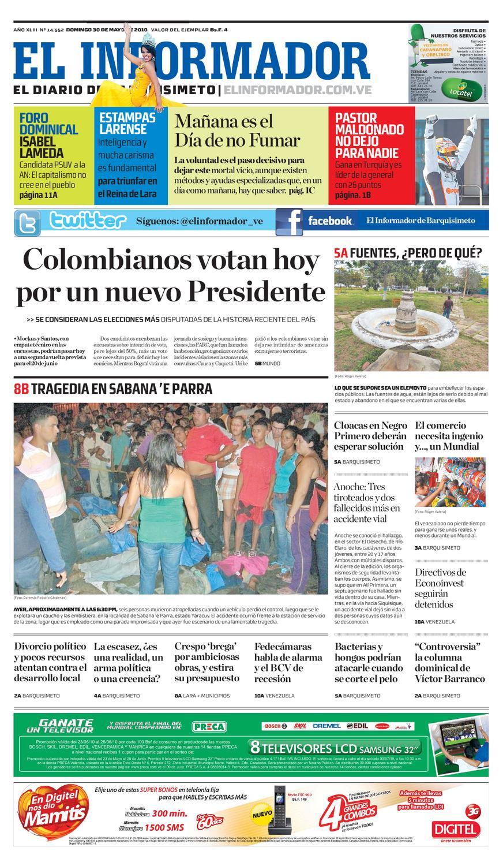 3a7a47904 El Informador impreso 2010.05.30 by El Informador - Diario online  Venezolano - issuu