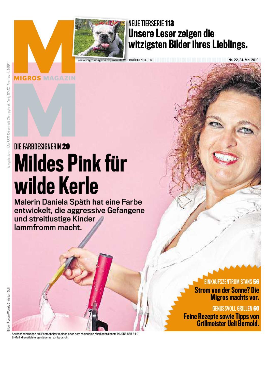 Migros Magazin 22 2010 d AA by Migros-Genossenschafts-Bund - issuu