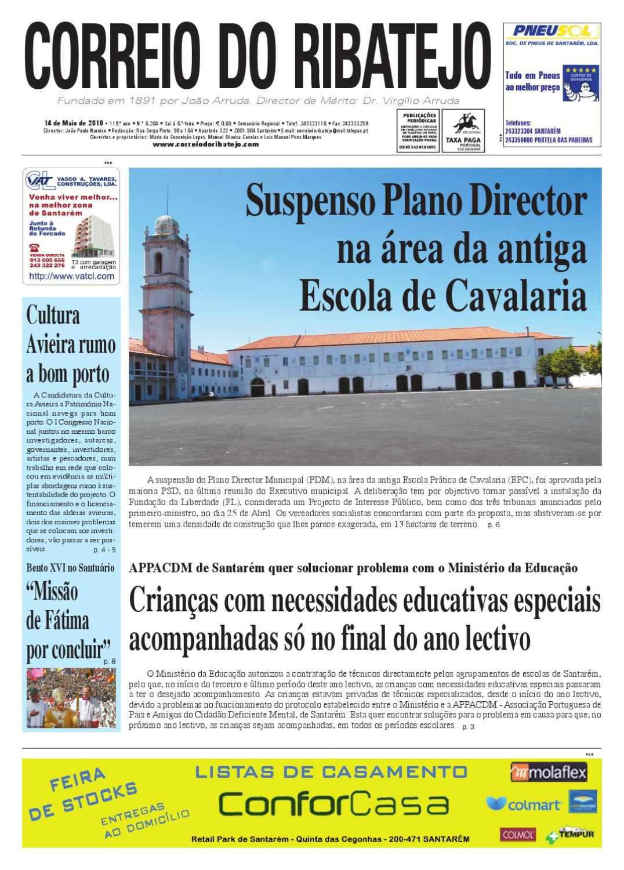63a8d097144b6 Edição nº 6.204 de 14 de Maio de 2010 by Correio do Ribatejo jornal - issuu