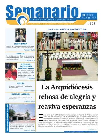 76c0186c379 Semanario  695 by Semanario Arquidiocesano de Guadalajara - issuu