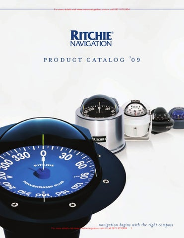 """Ritchie SuperSports Flush Mount Compass SS-5000 5/"""" Dial Mounting Hole 6-1//4/"""" MD"""
