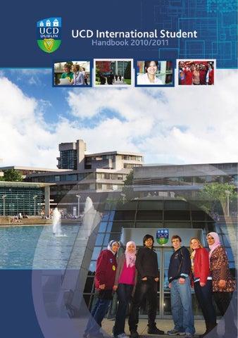 university college dublin international student handbook