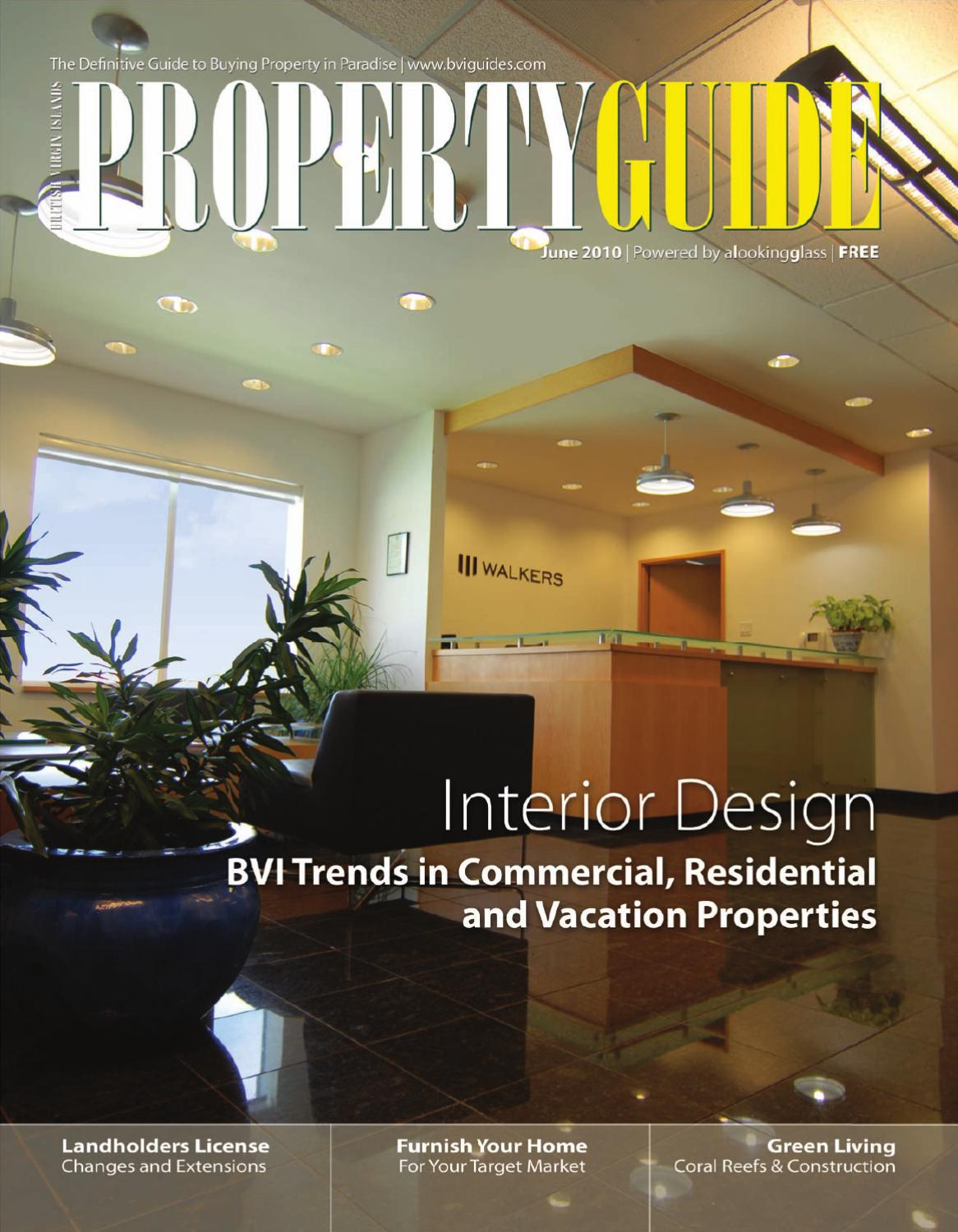 Bvi Property Guide June 2010 By Alookingglass Bvi Issuu
