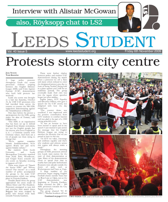 ee81ae5c52ddb Leeds Student (Volume 40 Issue 5) by Leeds Student - issuu