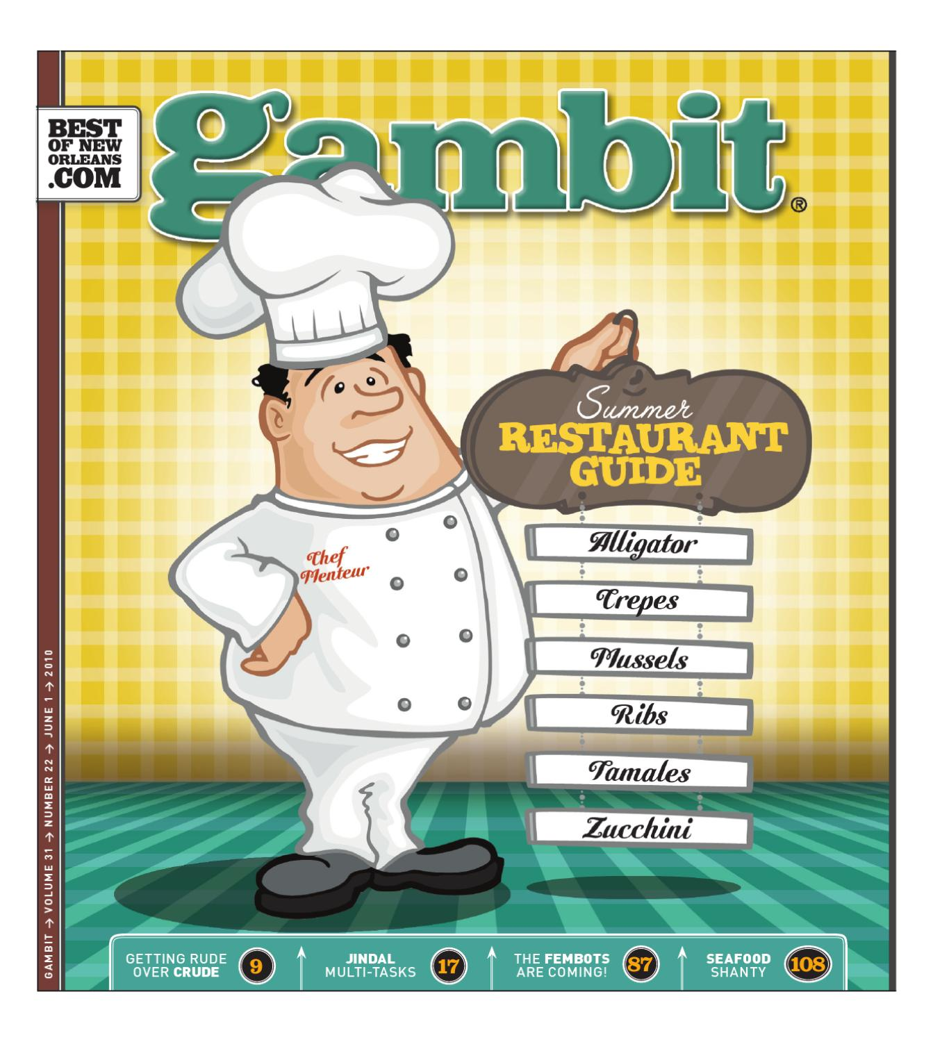 Gambits Summer Restaurant Guide By Gambit New Orleans Issuu Dance Steps Diagram Argentine Tango Alfredo Melendez39s Blog