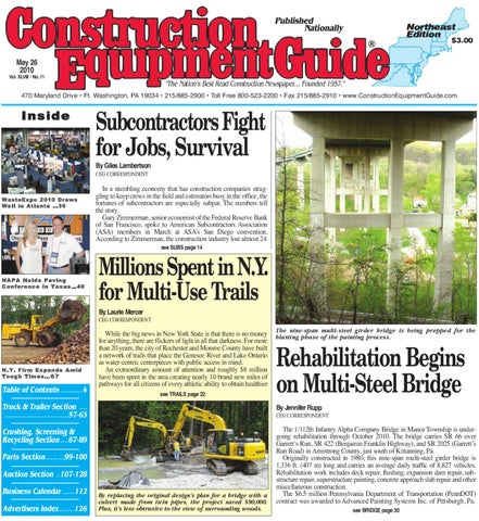 Northeast112010 by construction equipment guide issuu page 1 fandeluxe Gallery