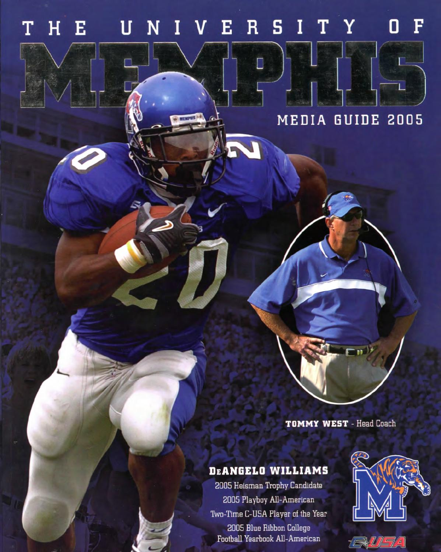 f6d677432ca 2005 Memphis Football Media Guide by University of Memphis Athletic Media  Relations - issuu