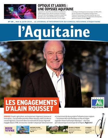 journal aquitaine n°36 by Région Aquitaine - issuu a9105198bae5