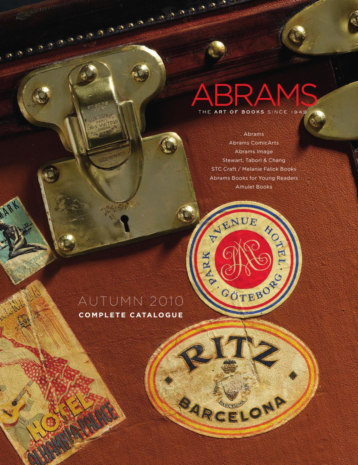 3b472e0358 ABRAMS UK Autumn 2010 Complete Catalogue by ABRAMS - issuu