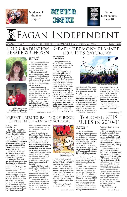 Eagan Independent - June by Sara Stensaas - issuu