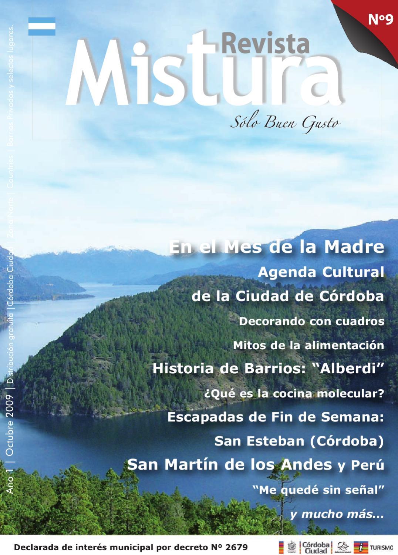 Revista mistura n 9 by revista mistura solo buen gusto for Caracteristicas de la cocina molecular