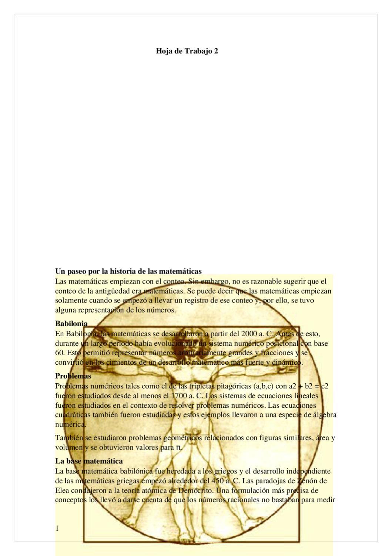 Historia de las matematicas by Leonardo Menchu - issuu