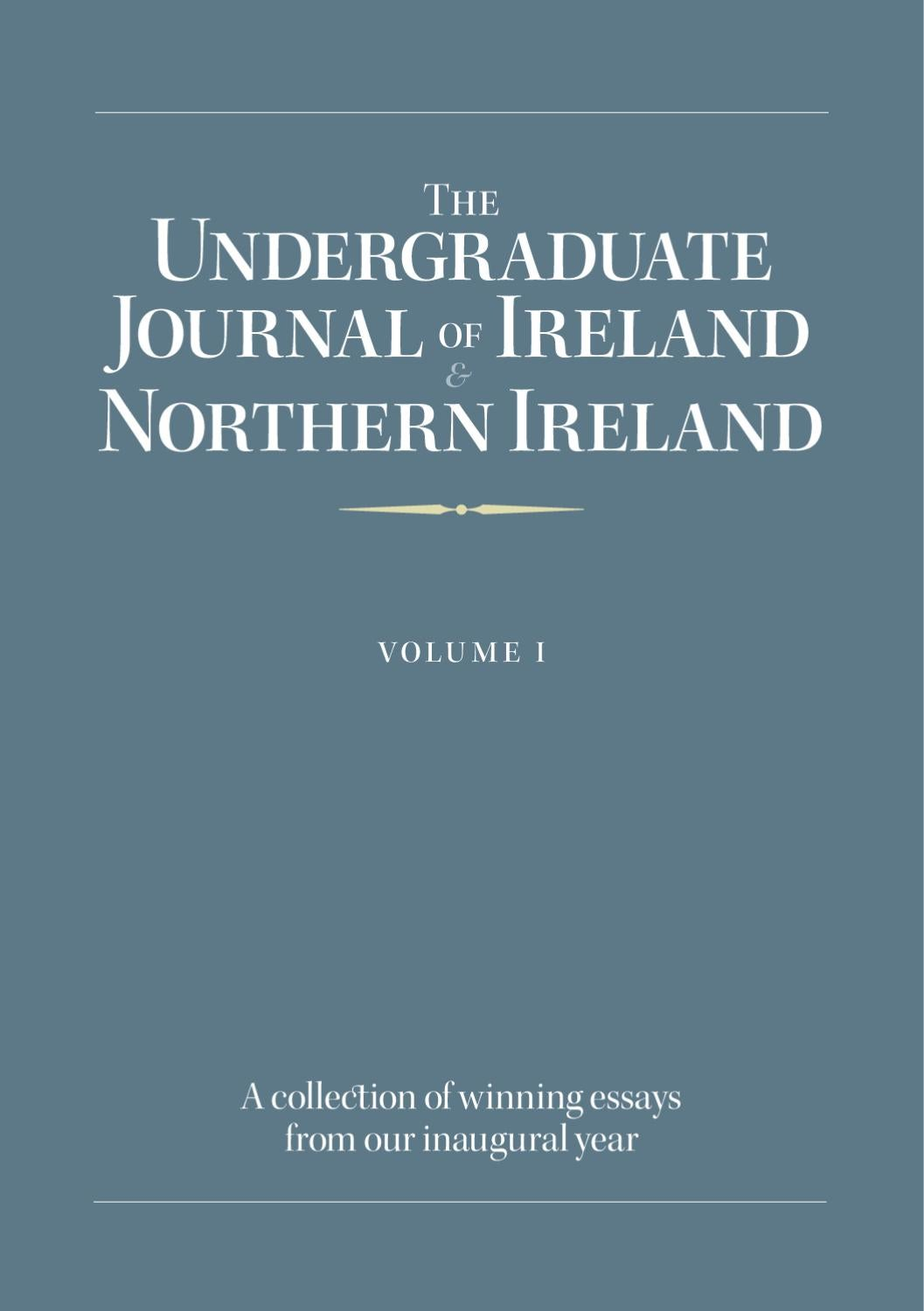 The Irish Undergraduate Journal By Gearoid Orourke Issuu 12 Volt Relay Wiring Diagram Http Daytona675orguk Turnflashhtm