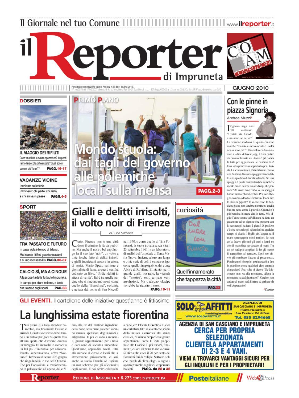 Il reporter-Impruneta-Giugno 2010 by ilreporter - issuu 00e3cd298d6