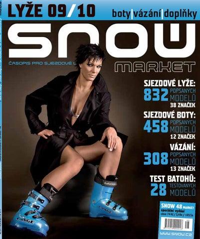 SNOW 48 MARKET - speciál o lyžařském vybavení - říjen 2009 e668d5c7310