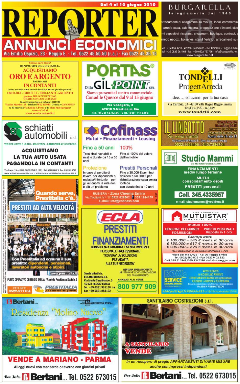 Reporter Annunci 4 Giugno 2010 by Reporter - issuu 89b31e41174