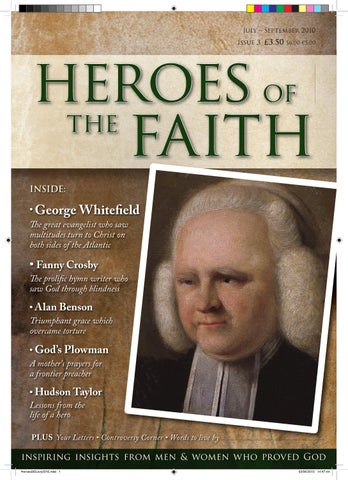 Heroes Of The Faith By New Life Publishing Co Issuu